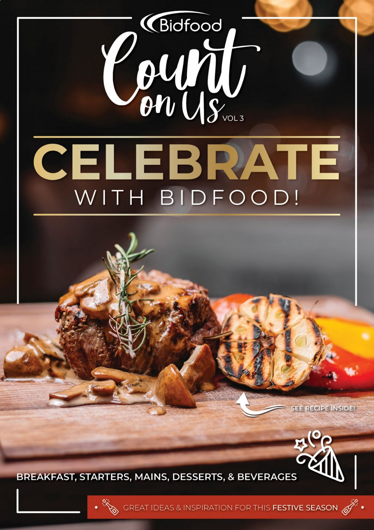 Bidfood catalogue . Page 1.