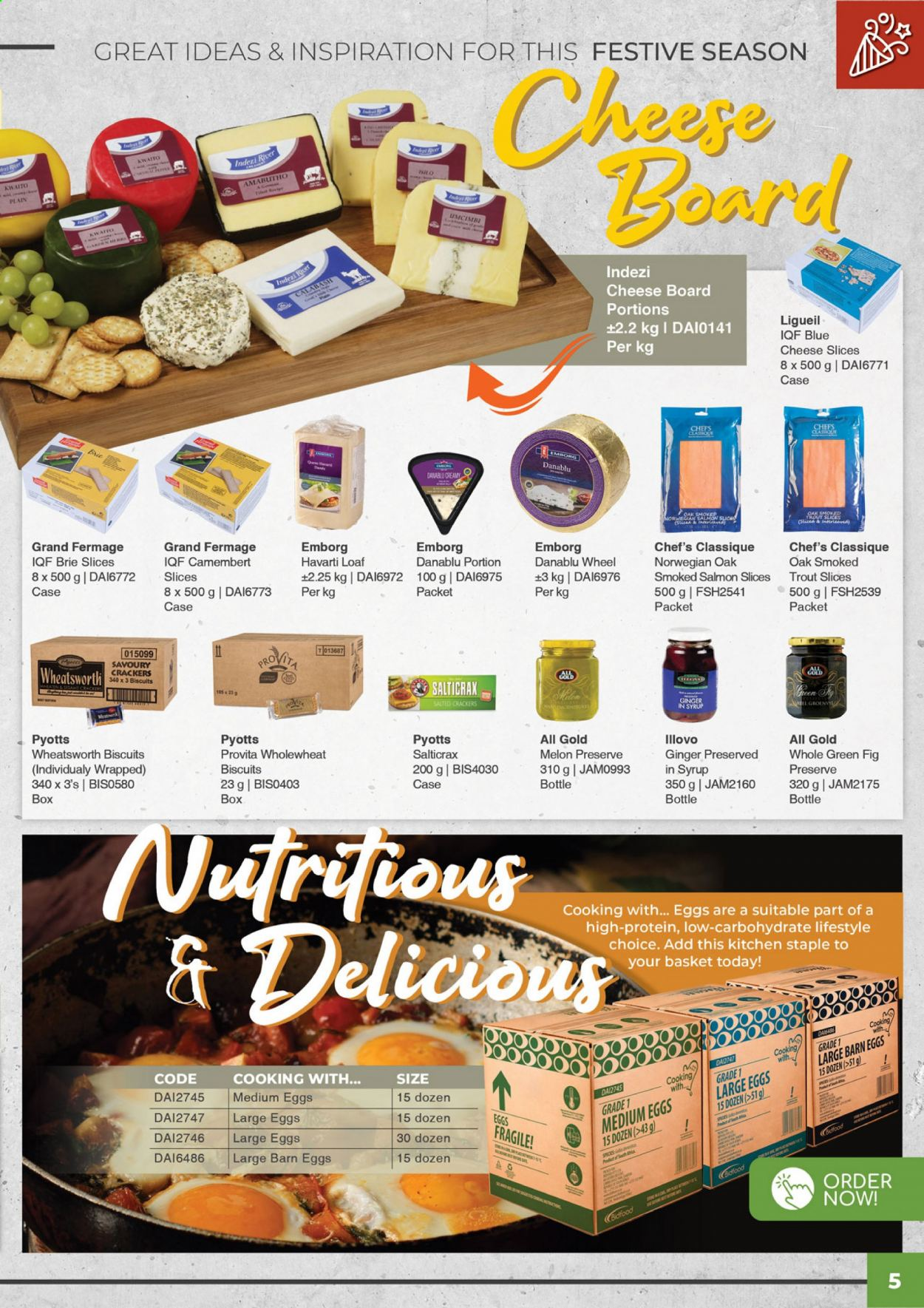 Bidfood catalogue . Page 5.