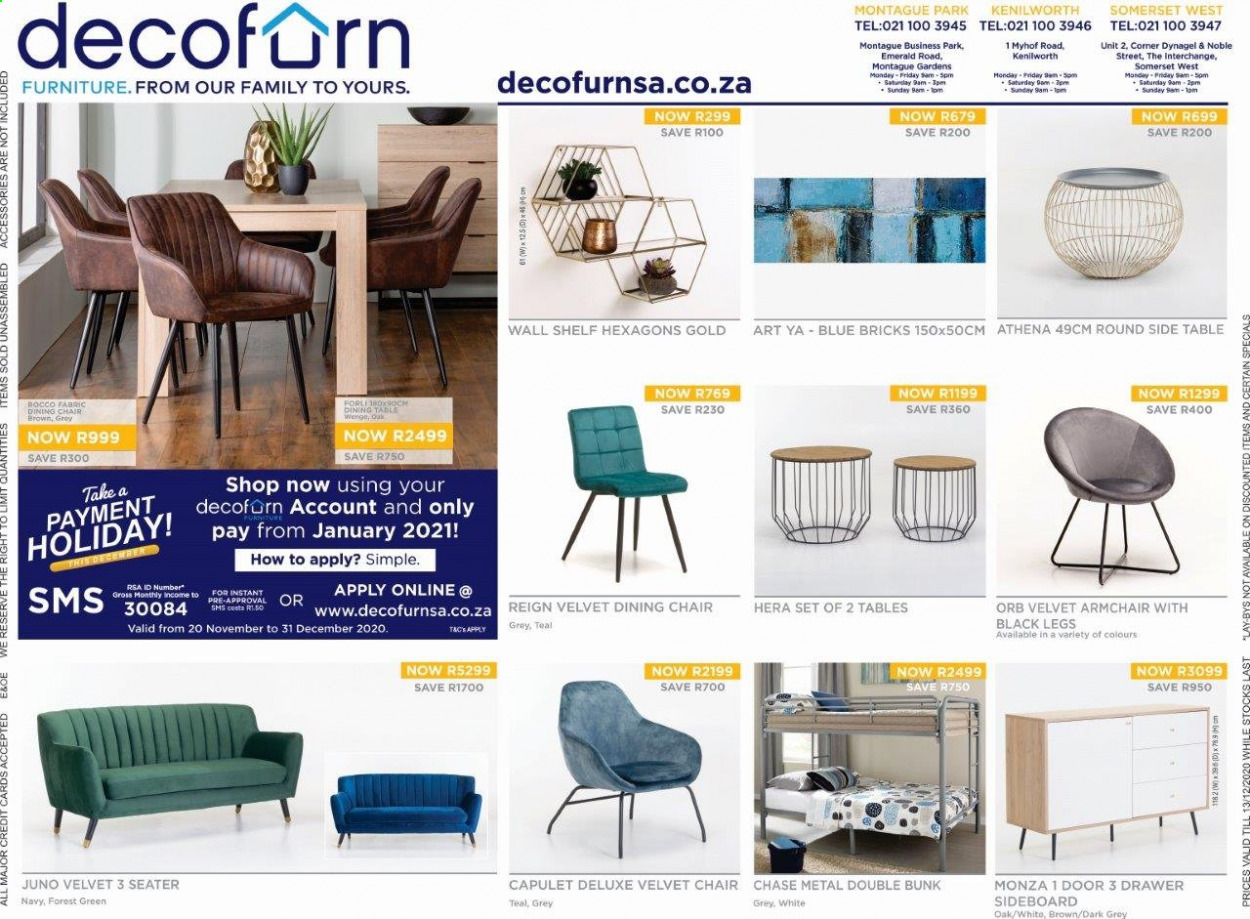 Decofurn Factory Shop catalogue  - 12.08.2020 - 12.13.2020. Page 1.