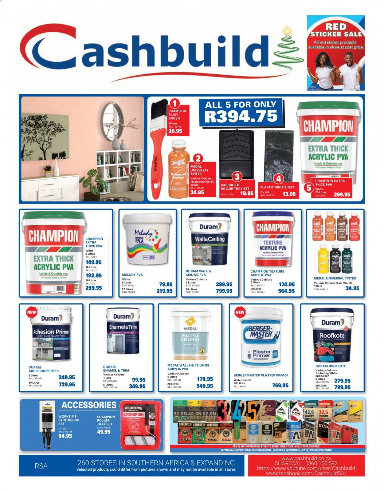 Cashbuild catalogue  - 12.23.2020 - 01.24.2021. Page 1.