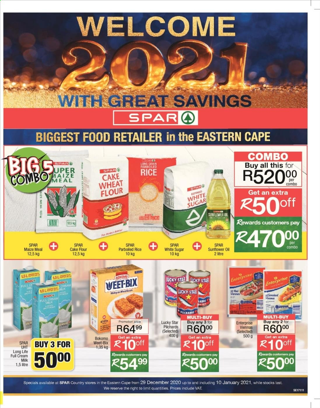 SPAR catalogue  - 12.29.2020 - 01.10.2021. Page 1.