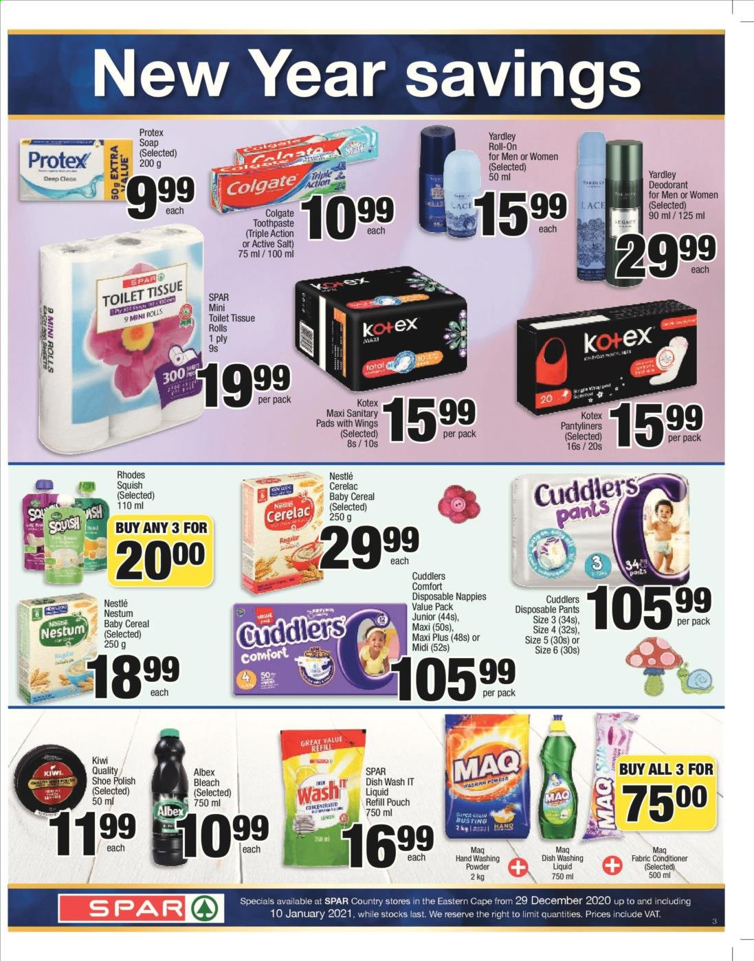 SPAR catalogue  - 12.29.2020 - 01.10.2021. Page 3.