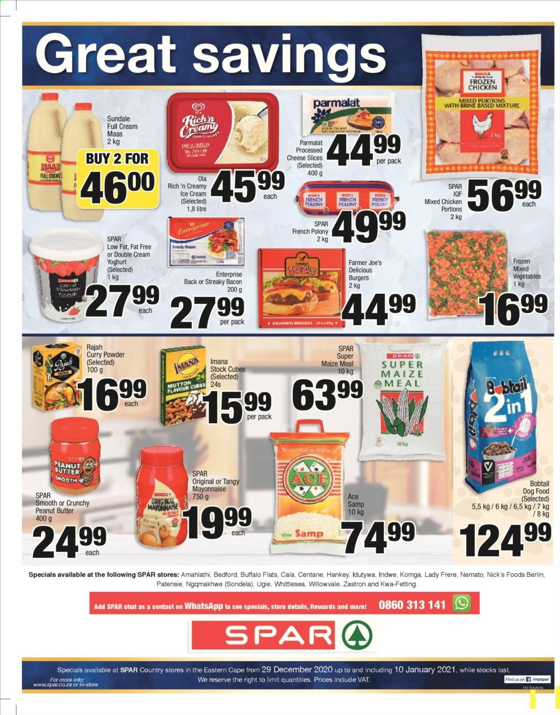 SPAR catalogue  - 12.29.2020 - 01.10.2021. Page 4.