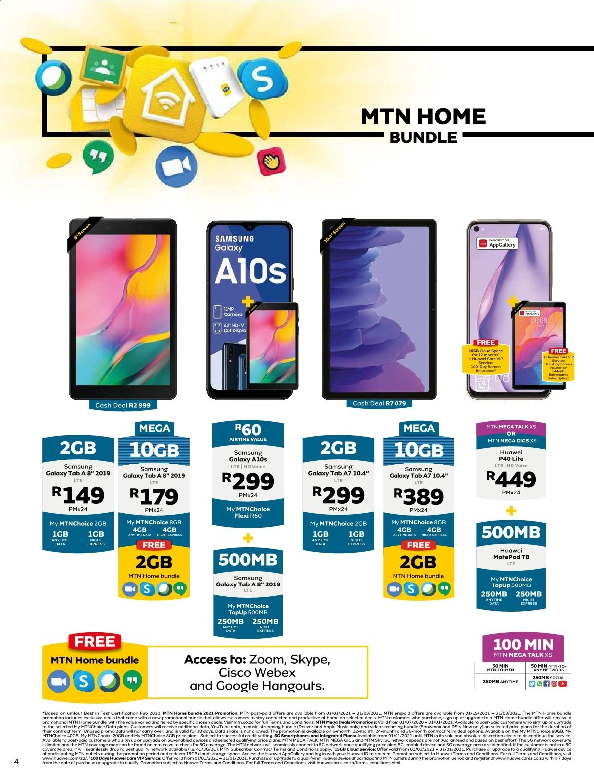 MTN catalogue  - 01.01.2021 - 01.31.2021. Page 4.