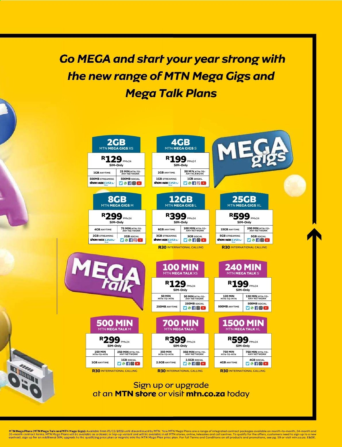 MTN catalogue  - 01.01.2021 - 01.31.2021. Page 9.