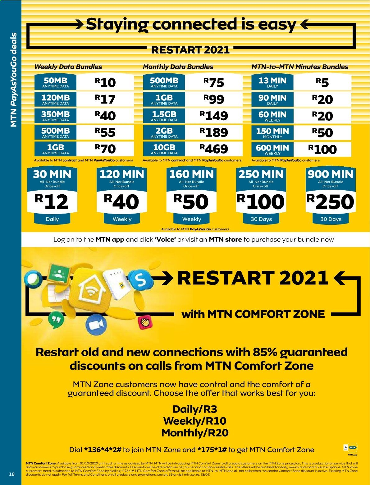 MTN catalogue  - 01.01.2021 - 01.31.2021. Page 18.