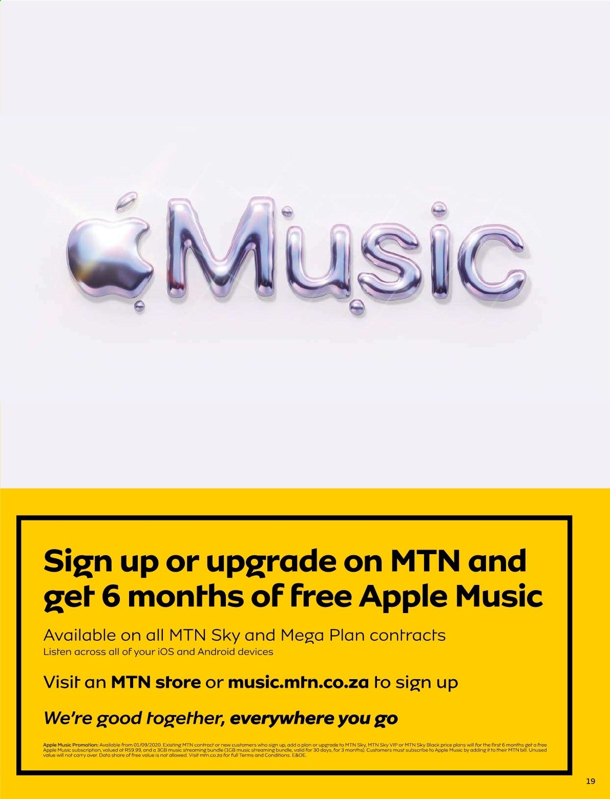 MTN catalogue  - 01.01.2021 - 01.31.2021. Page 19.