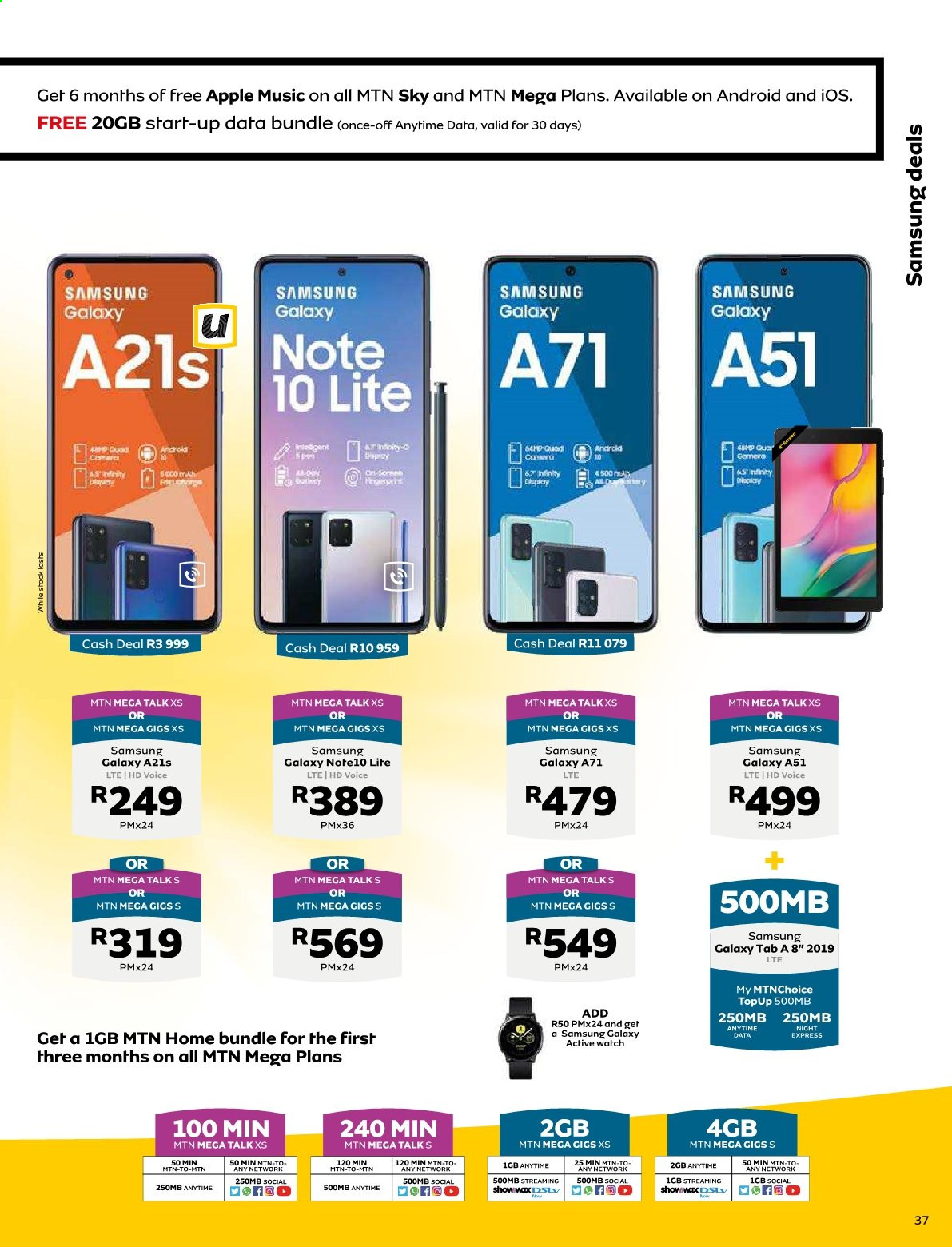 MTN catalogue  - 01.01.2021 - 01.31.2021. Page 37.