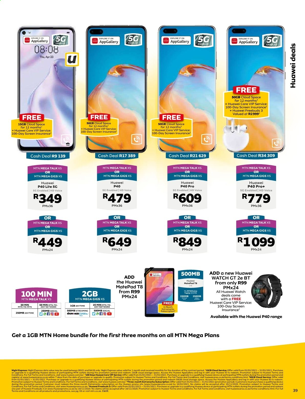 MTN catalogue  - 01.01.2021 - 01.31.2021. Page 39.