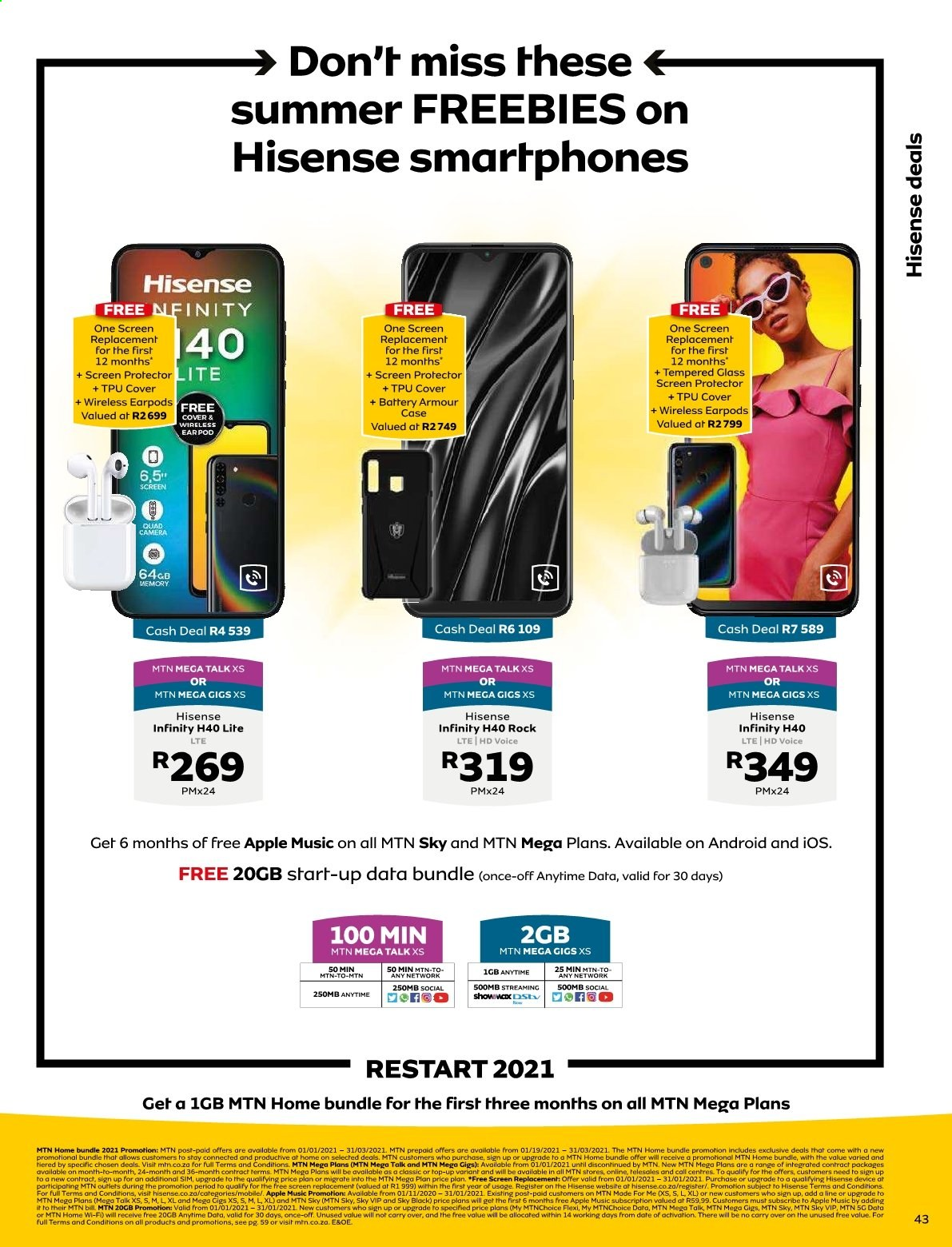 MTN catalogue  - 01.01.2021 - 01.31.2021. Page 43.