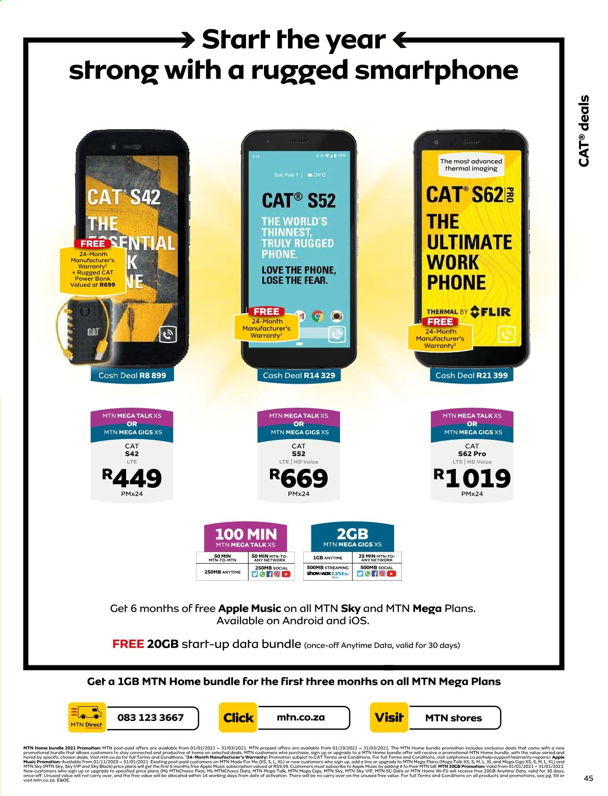 MTN catalogue  - 01.01.2021 - 01.31.2021. Page 45.