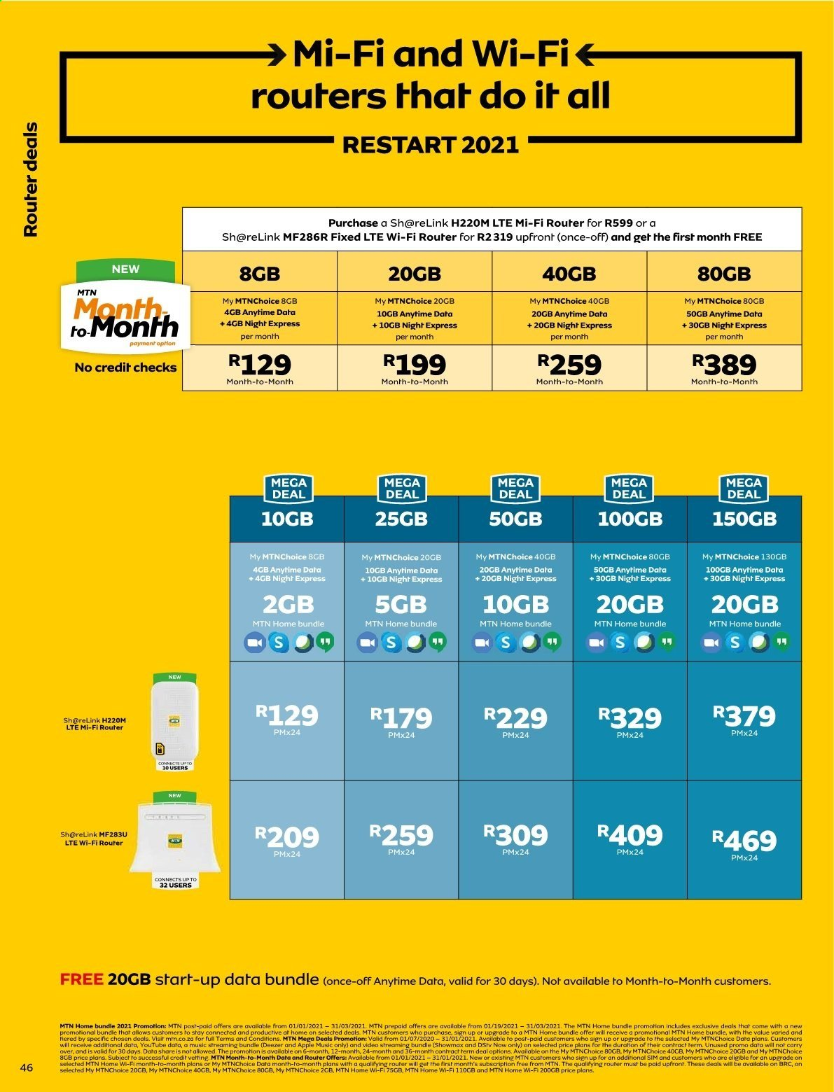 MTN catalogue  - 01.01.2021 - 01.31.2021. Page 46.