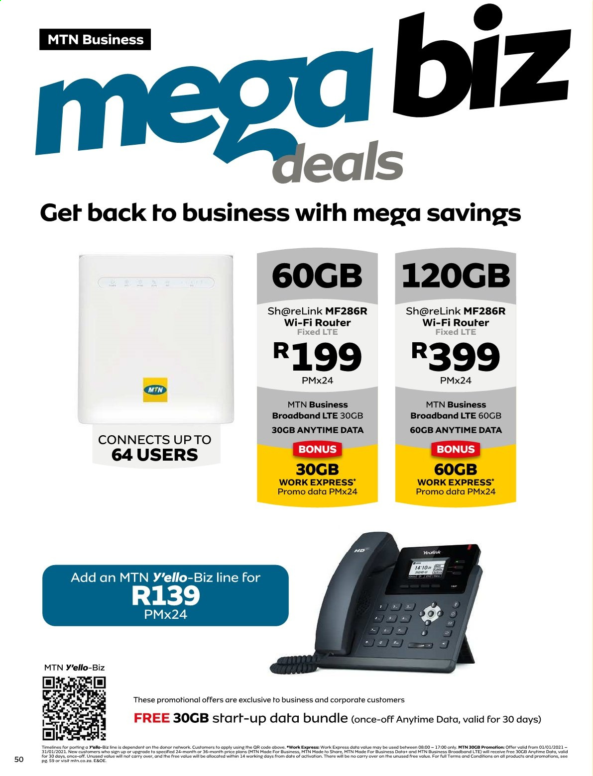MTN catalogue  - 01.01.2021 - 01.31.2021. Page 50.