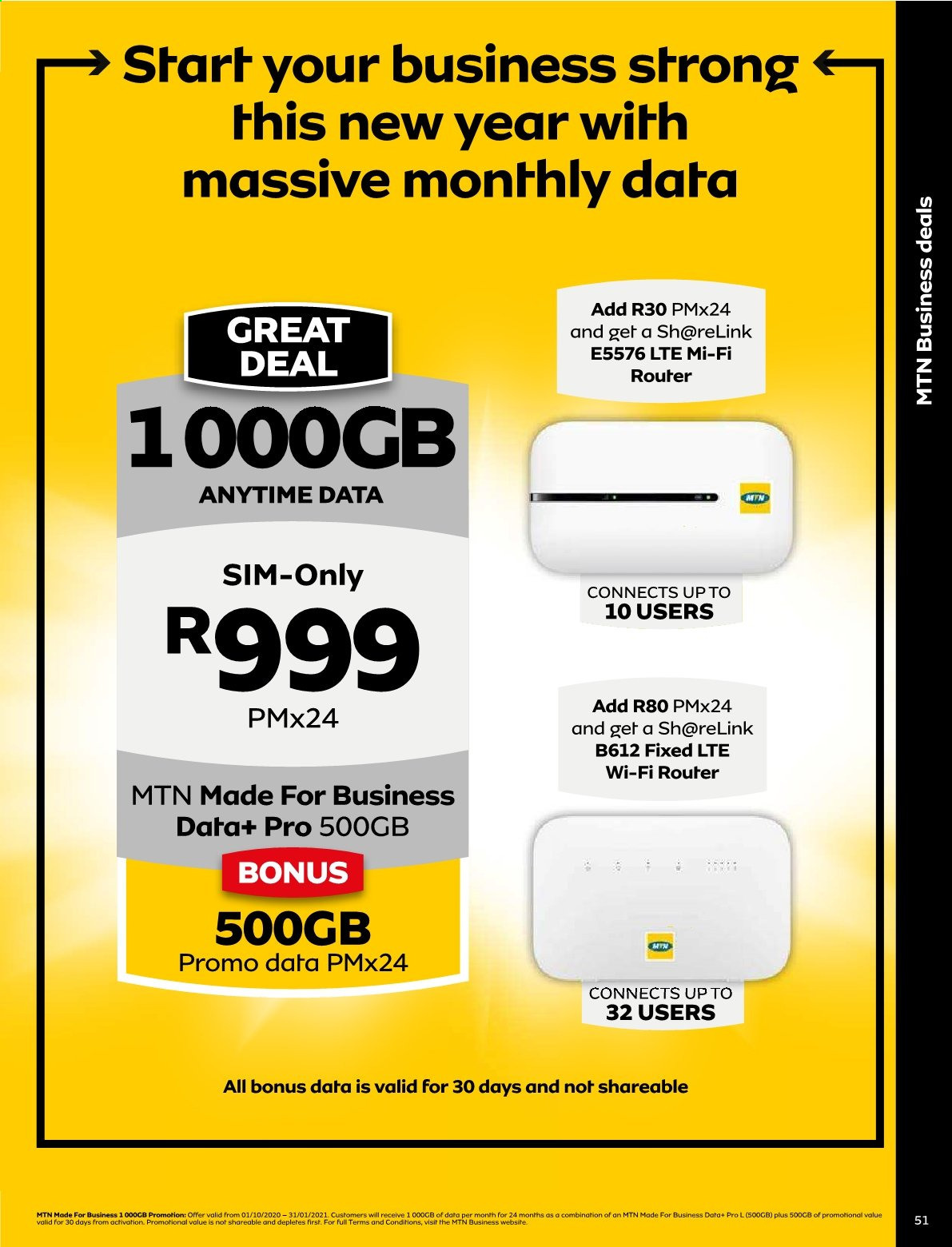 MTN catalogue  - 01.01.2021 - 01.31.2021. Page 51.