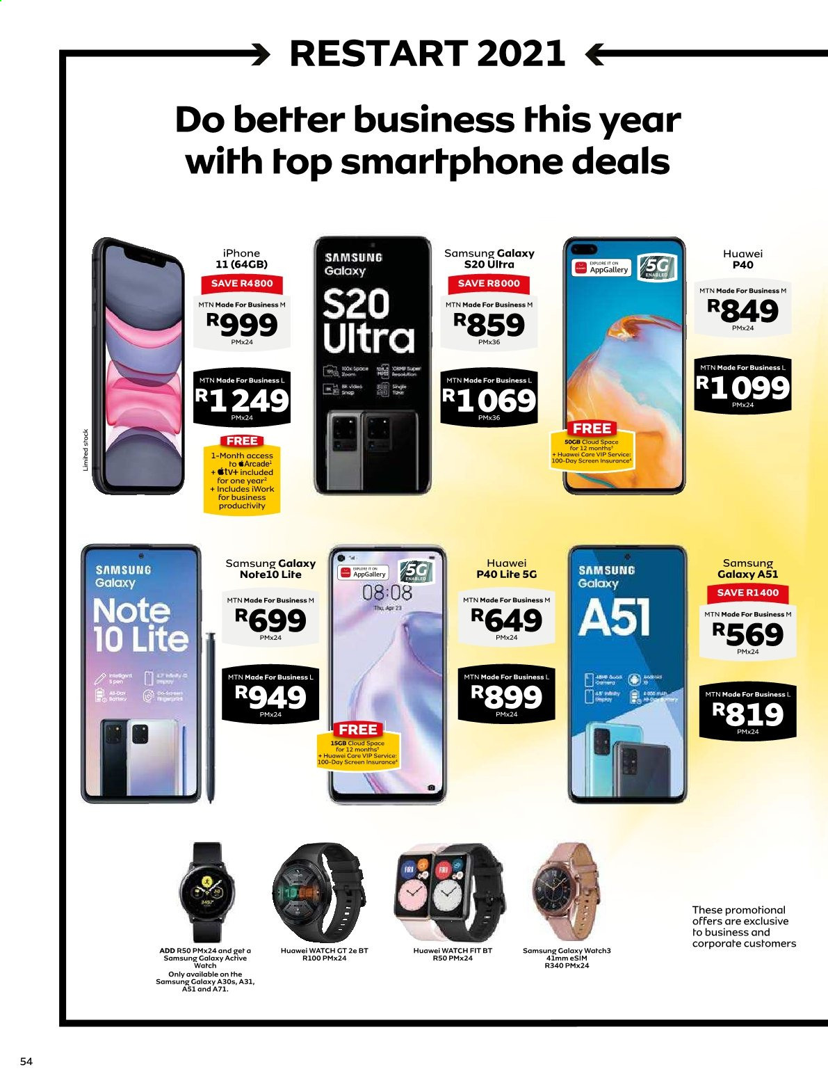 MTN catalogue  - 01.01.2021 - 01.31.2021. Page 54.