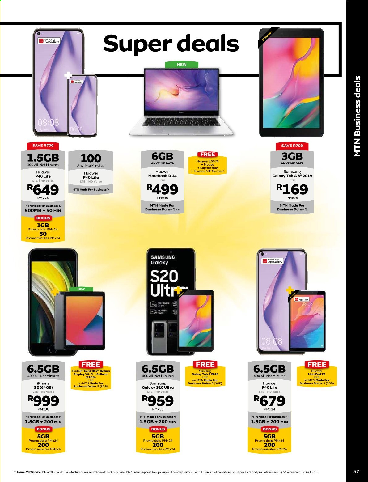 MTN catalogue  - 01.01.2021 - 01.31.2021. Page 57.