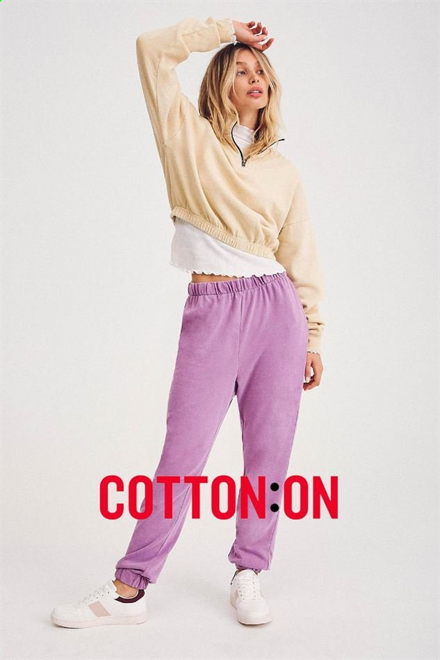 Cotton On catalogue . Page 1.