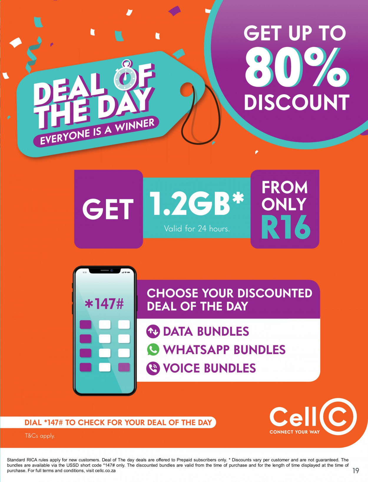 Cell C catalogue  - 02.01.2021 - 03.15.2021. Page 19.