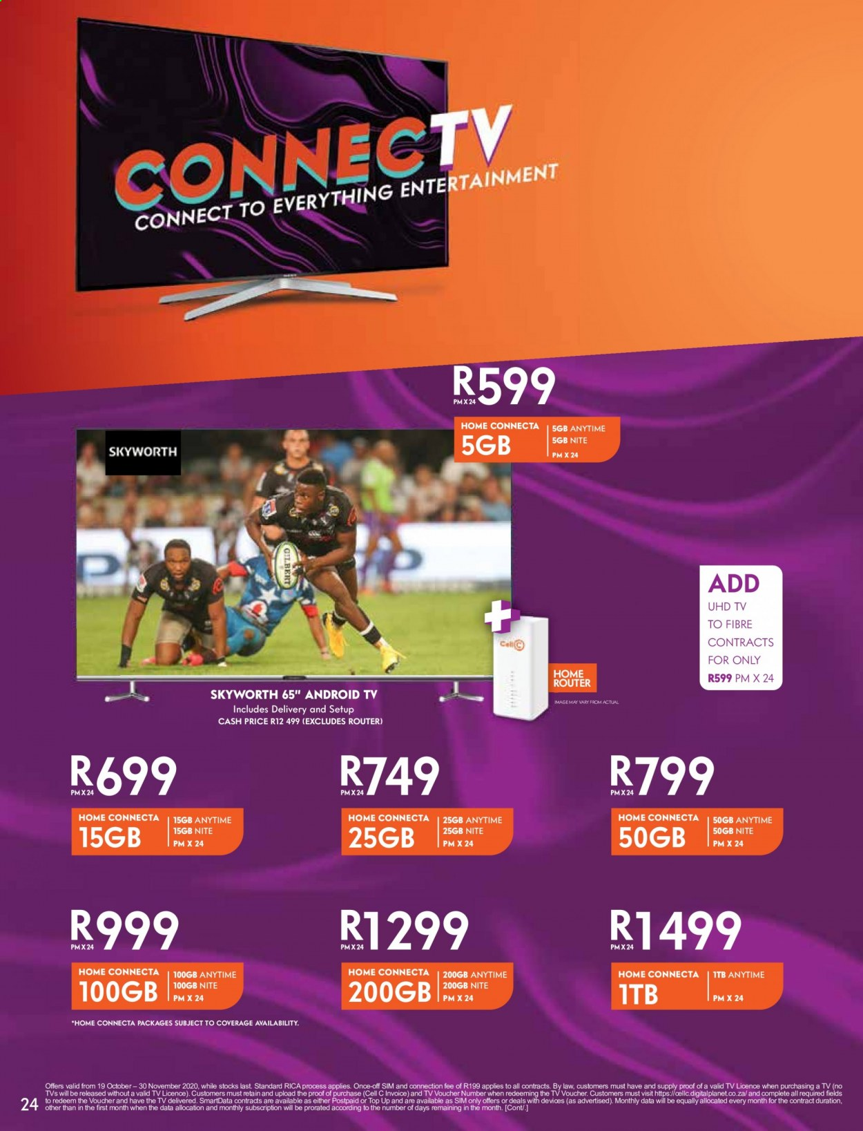 Cell C catalogue  - 02.01.2021 - 03.15.2021. Page 24.