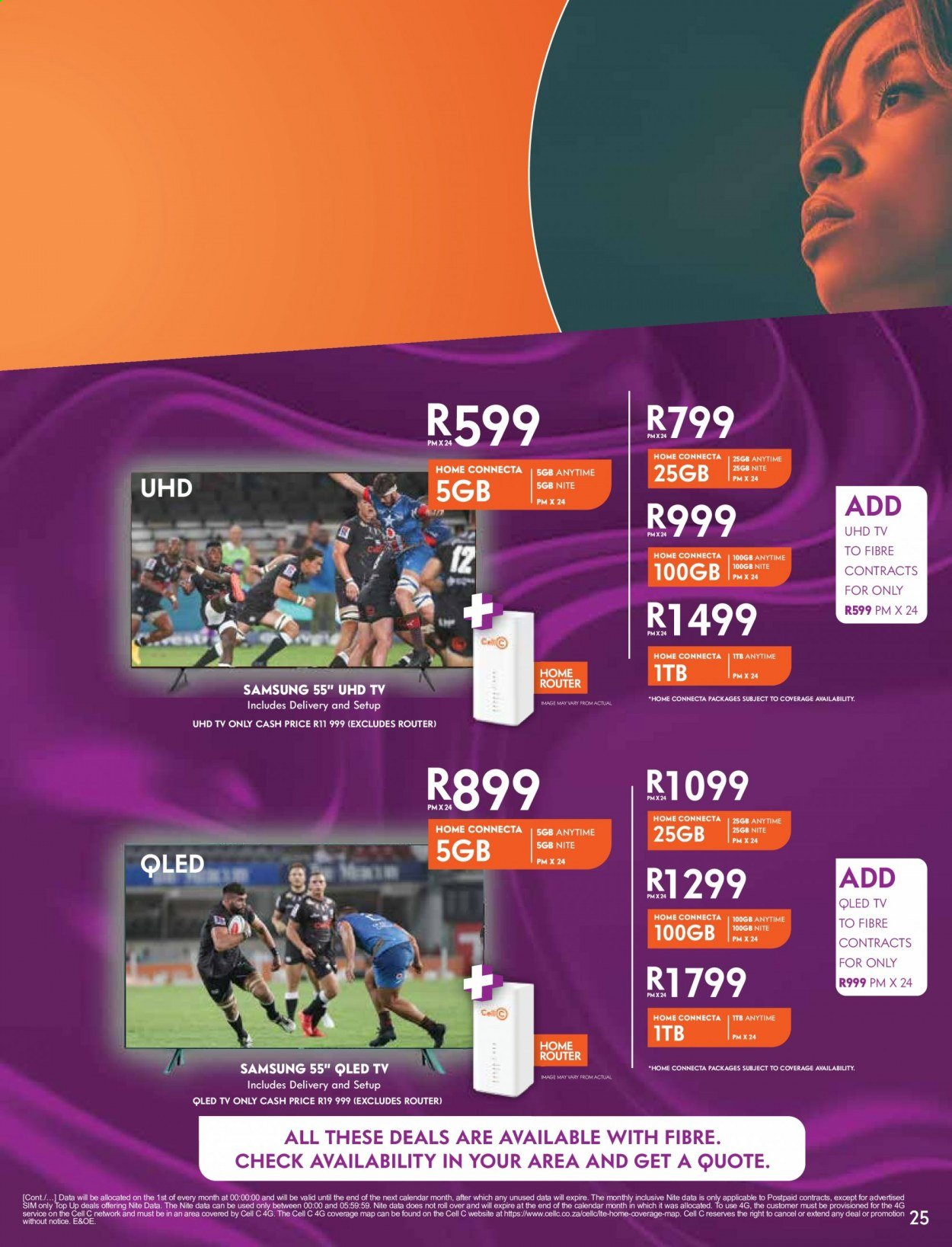 Cell C catalogue  - 02.01.2021 - 03.15.2021. Page 25.