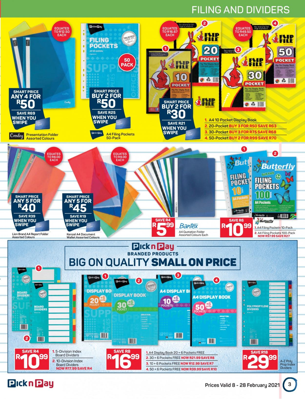 Pick n Pay catalogue  - 02.08.2021 - 02.28.2021. Page 3.