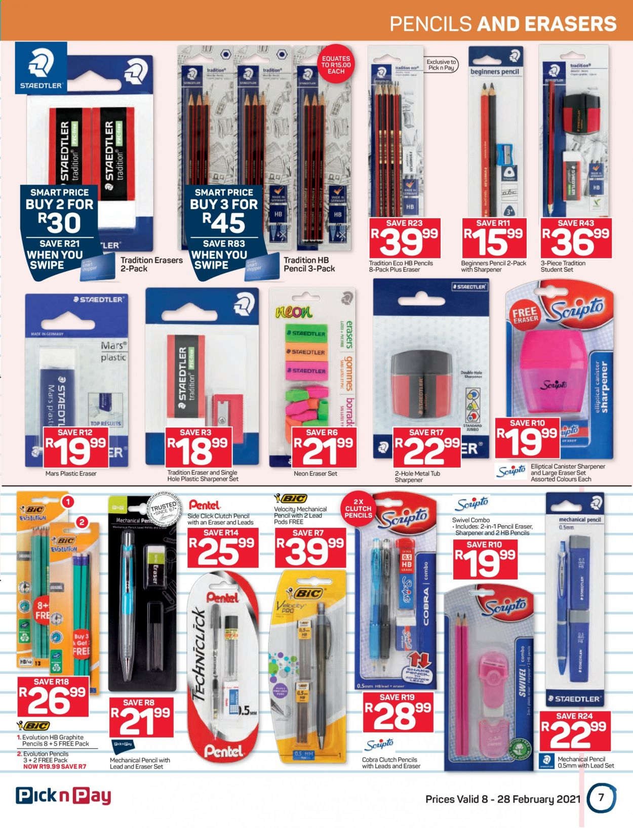 Pick n Pay catalogue  - 02.08.2021 - 02.28.2021. Page 7.