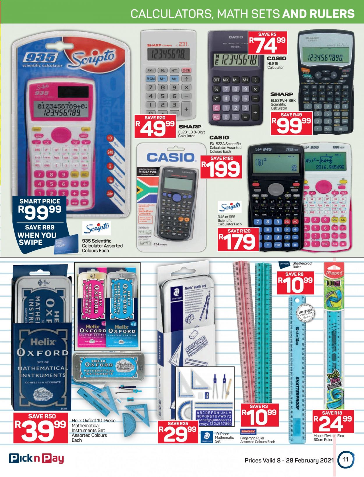 Pick n Pay catalogue  - 02.08.2021 - 02.28.2021. Page 11.