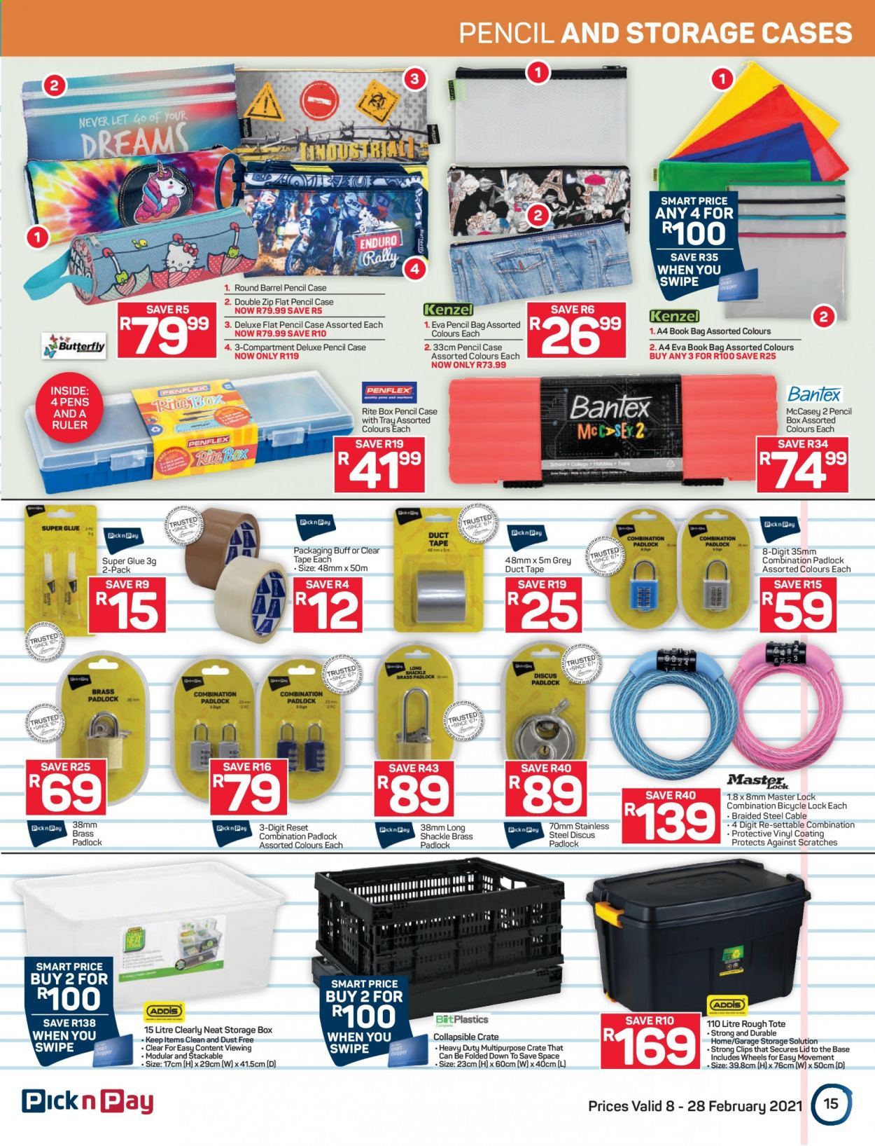 Pick n Pay catalogue  - 02.08.2021 - 02.28.2021. Page 15.