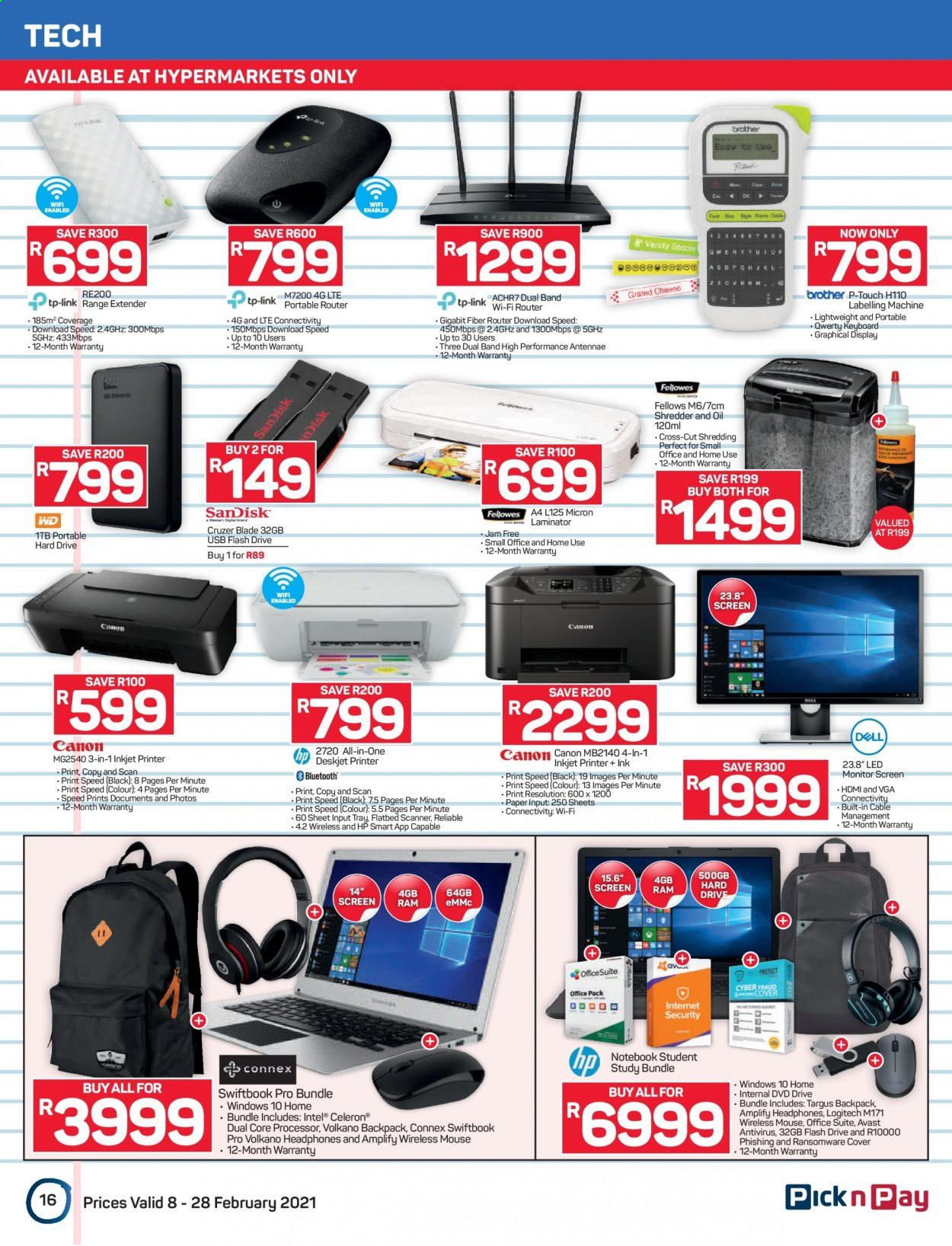 Pick n Pay catalogue  - 02.08.2021 - 02.28.2021. Page 16.