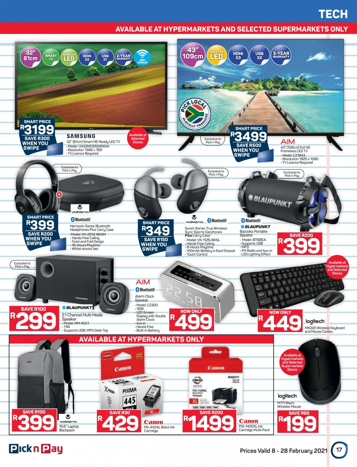 Pick n Pay catalogue  - 02.08.2021 - 02.28.2021. Page 17.