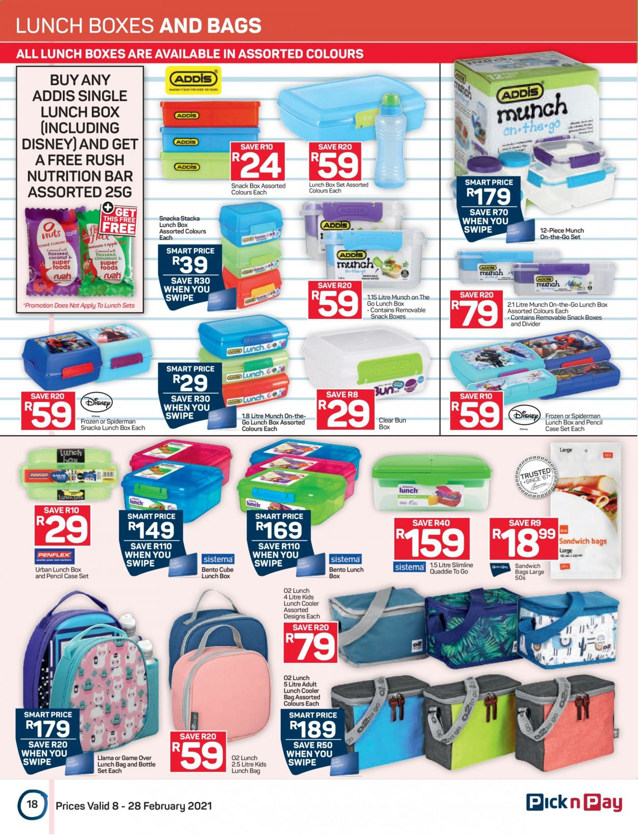 Pick n Pay catalogue  - 02.08.2021 - 02.28.2021. Page 18.