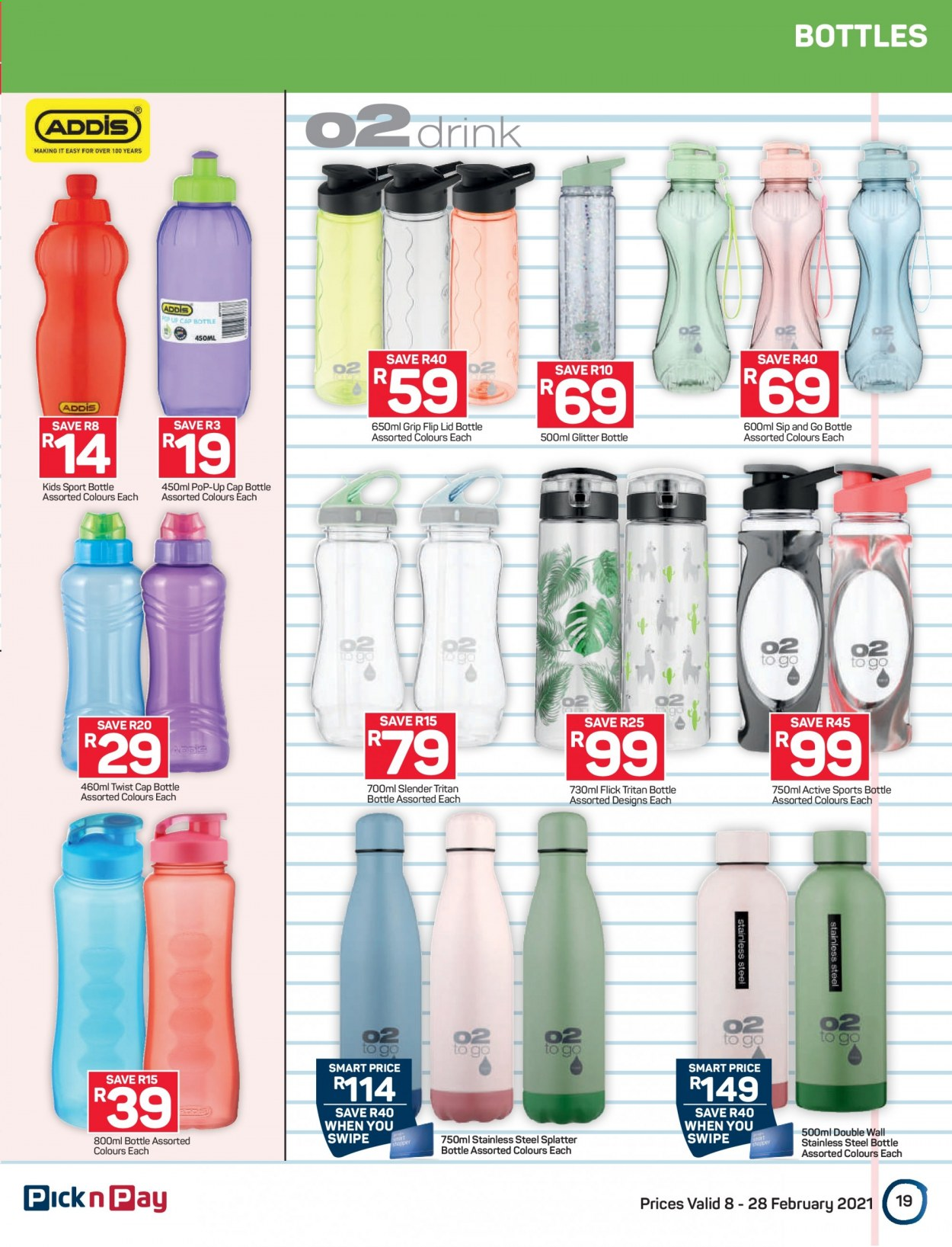 Pick n Pay catalogue  - 02.08.2021 - 02.28.2021. Page 19.