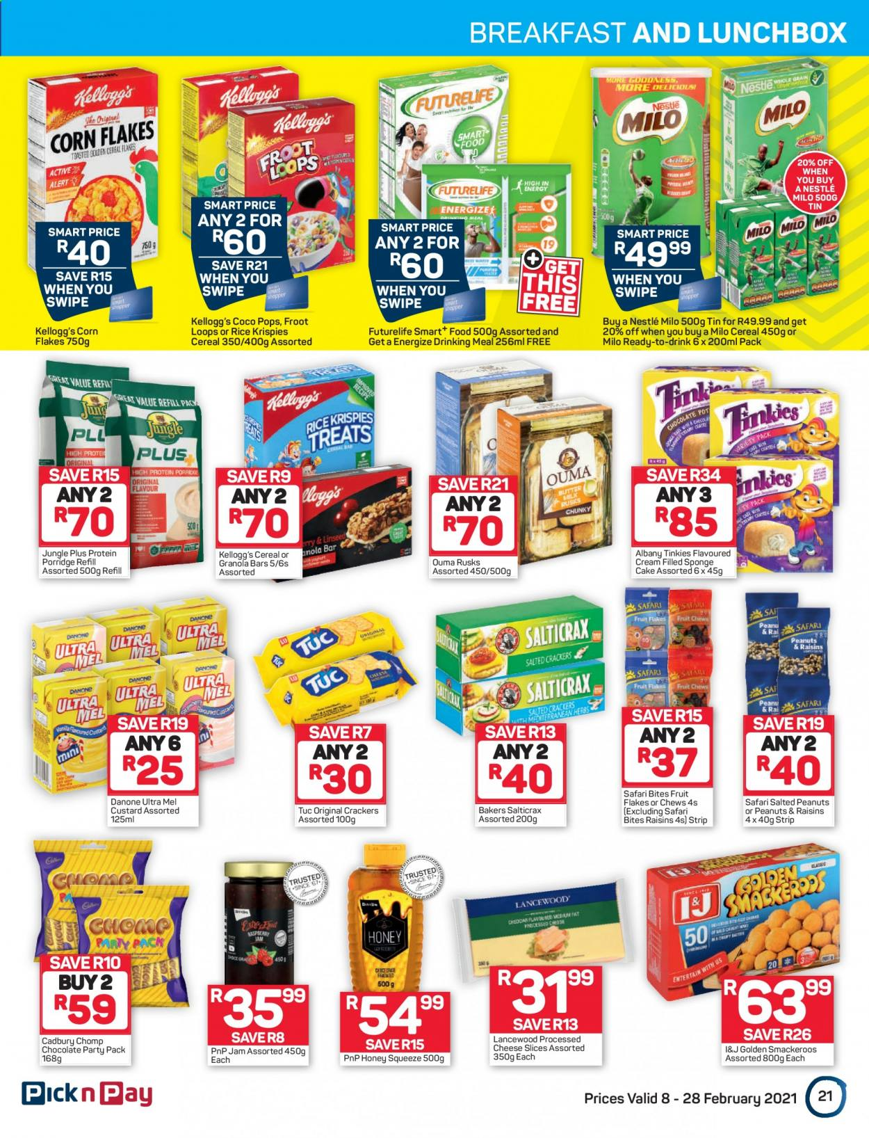 Pick n Pay catalogue  - 02.08.2021 - 02.28.2021. Page 21.