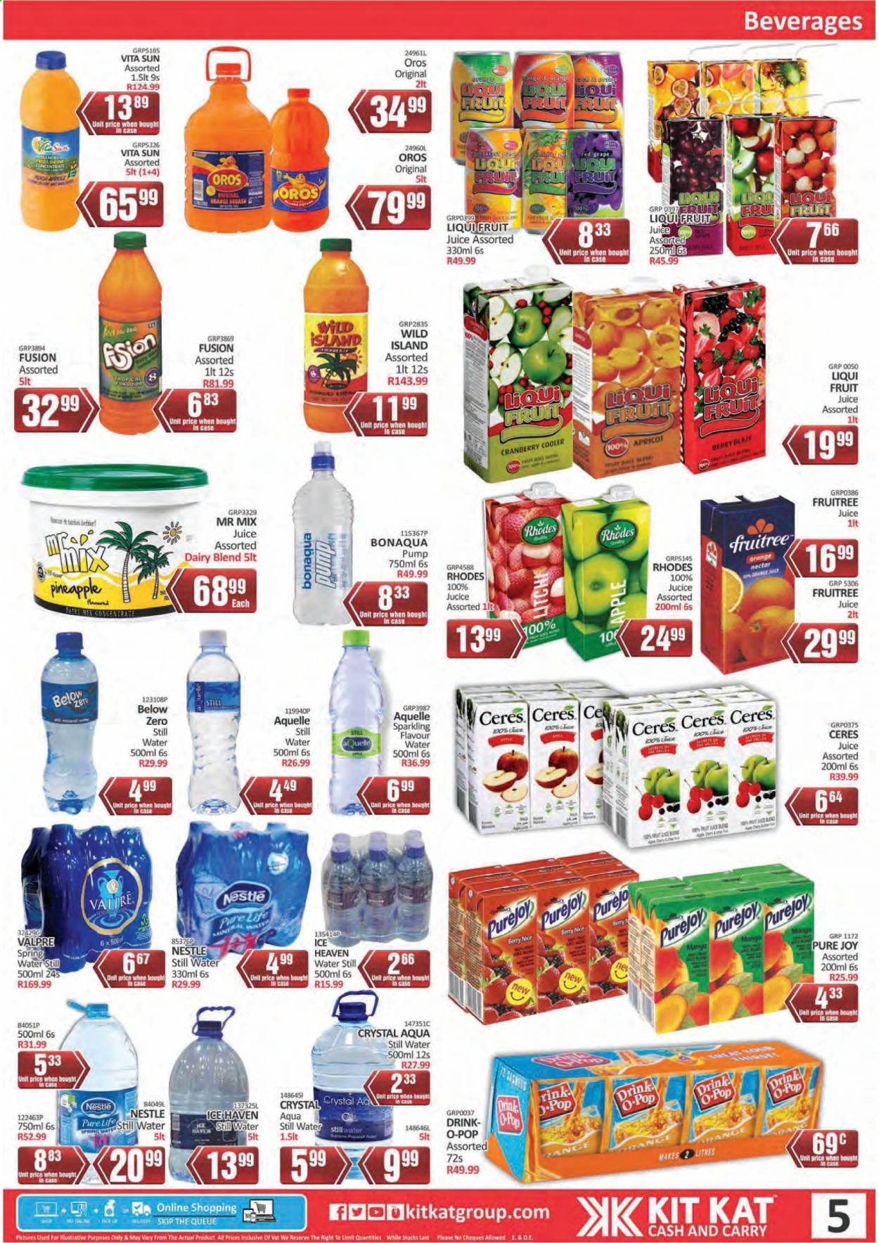Kit Kat Cash & Carry catalogue  - 02.11.2021 - 05.12.2021. Page 5.