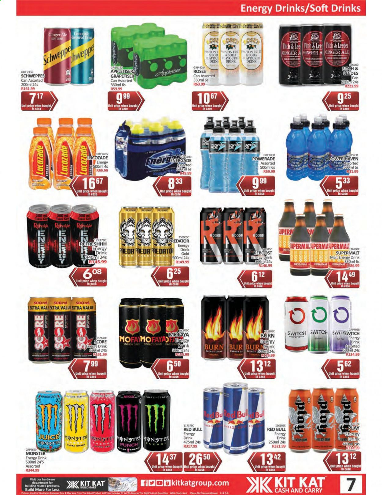 Kit Kat Cash & Carry catalogue  - 02.11.2021 - 05.12.2021. Page 7.