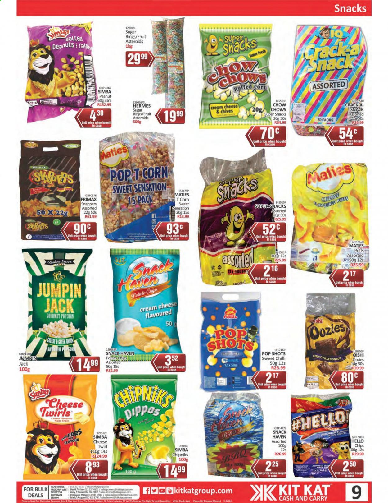 Kit Kat Cash & Carry catalogue  - 02.11.2021 - 05.12.2021. Page 9.