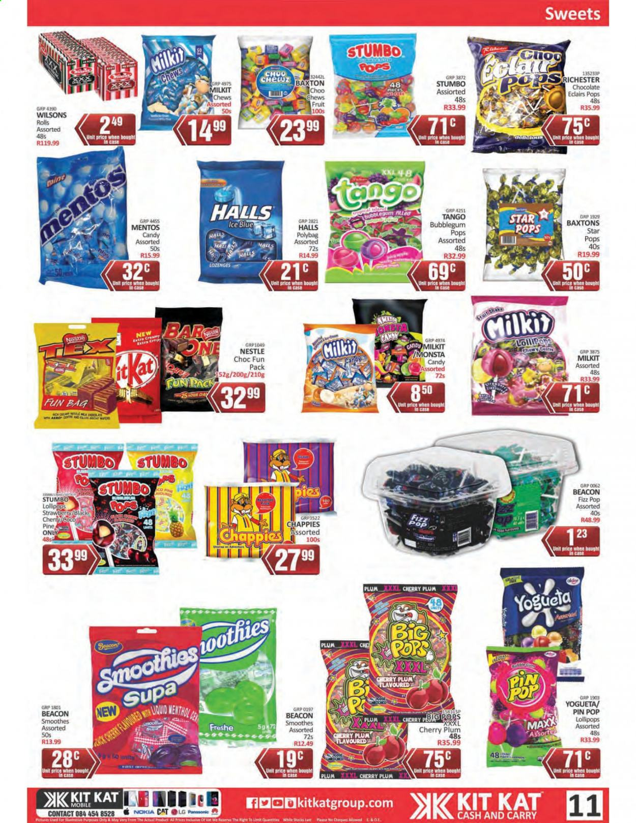 Kit Kat Cash & Carry catalogue  - 02.11.2021 - 05.12.2021. Page 11.