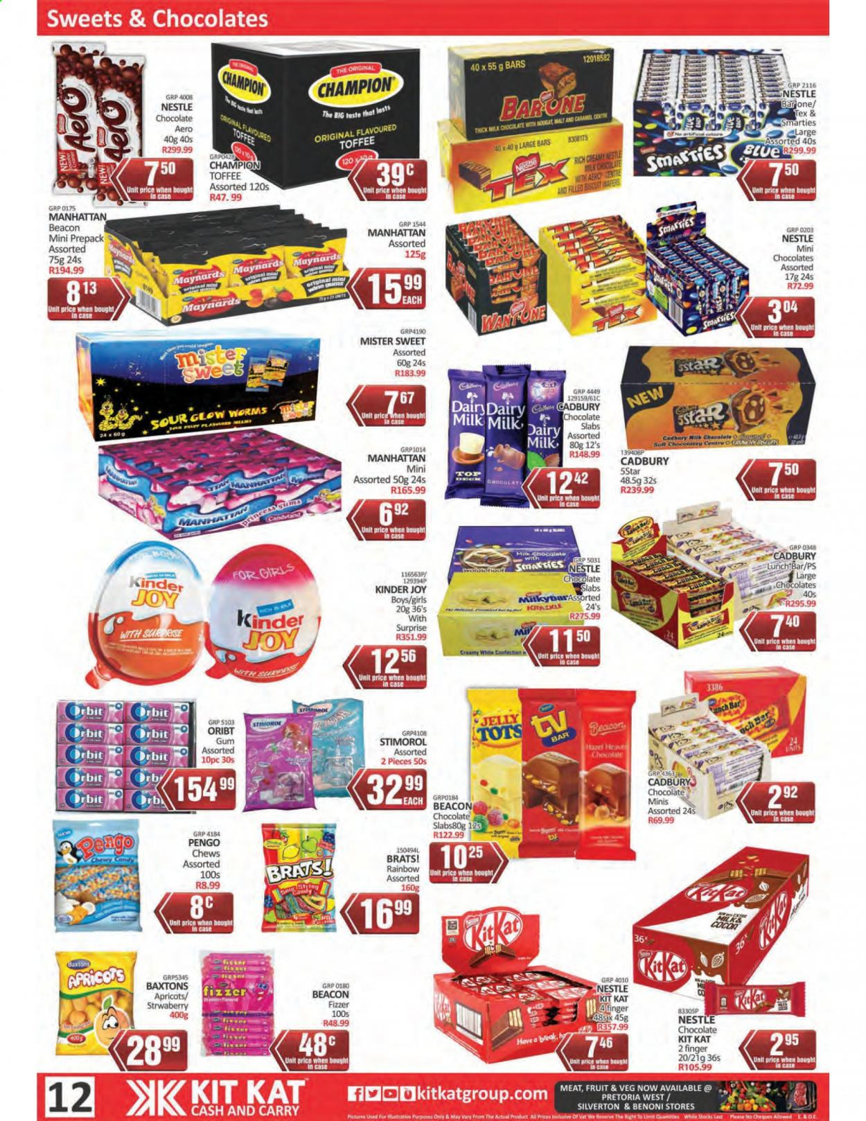 Kit Kat Cash & Carry catalogue  - 02.11.2021 - 05.12.2021. Page 12.