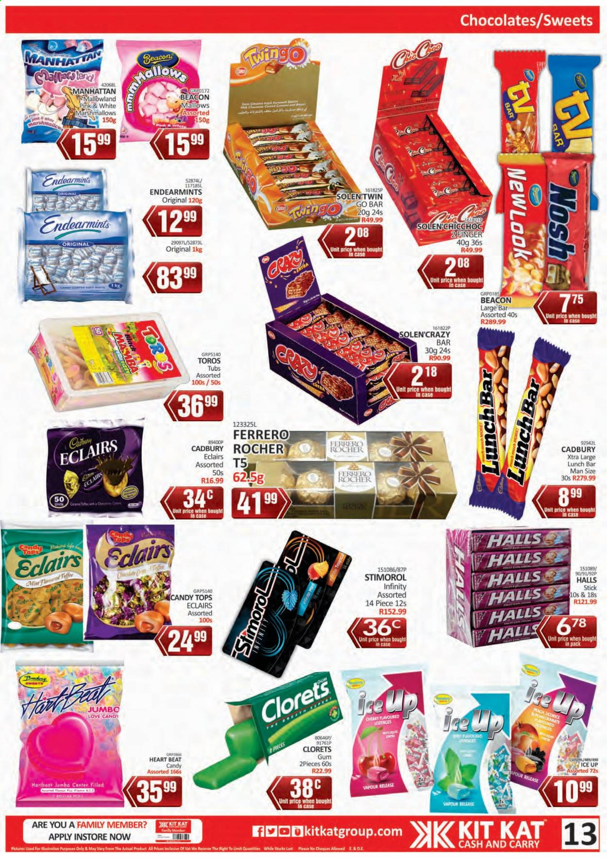 Kit Kat Cash & Carry catalogue  - 02.11.2021 - 05.12.2021. Page 13.