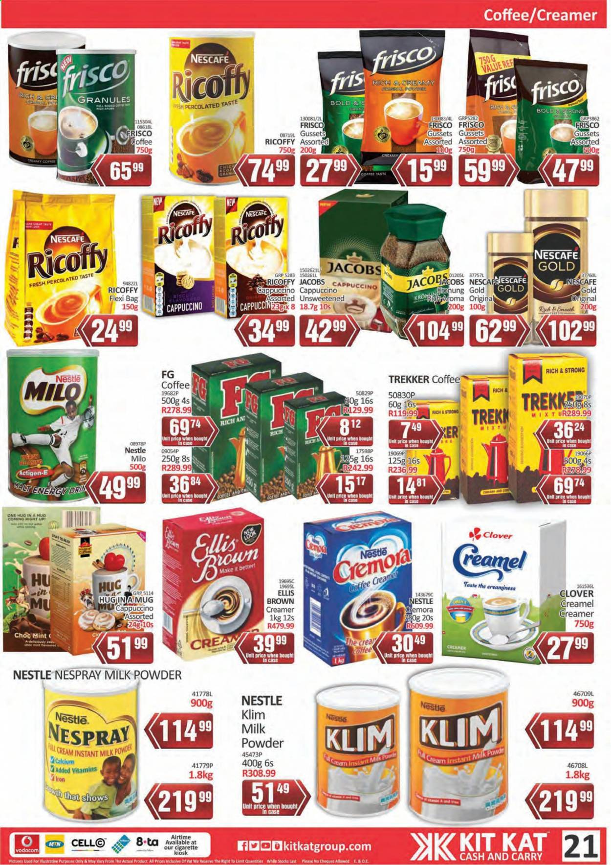 Kit Kat Cash & Carry catalogue  - 02.11.2021 - 05.12.2021. Page 21.