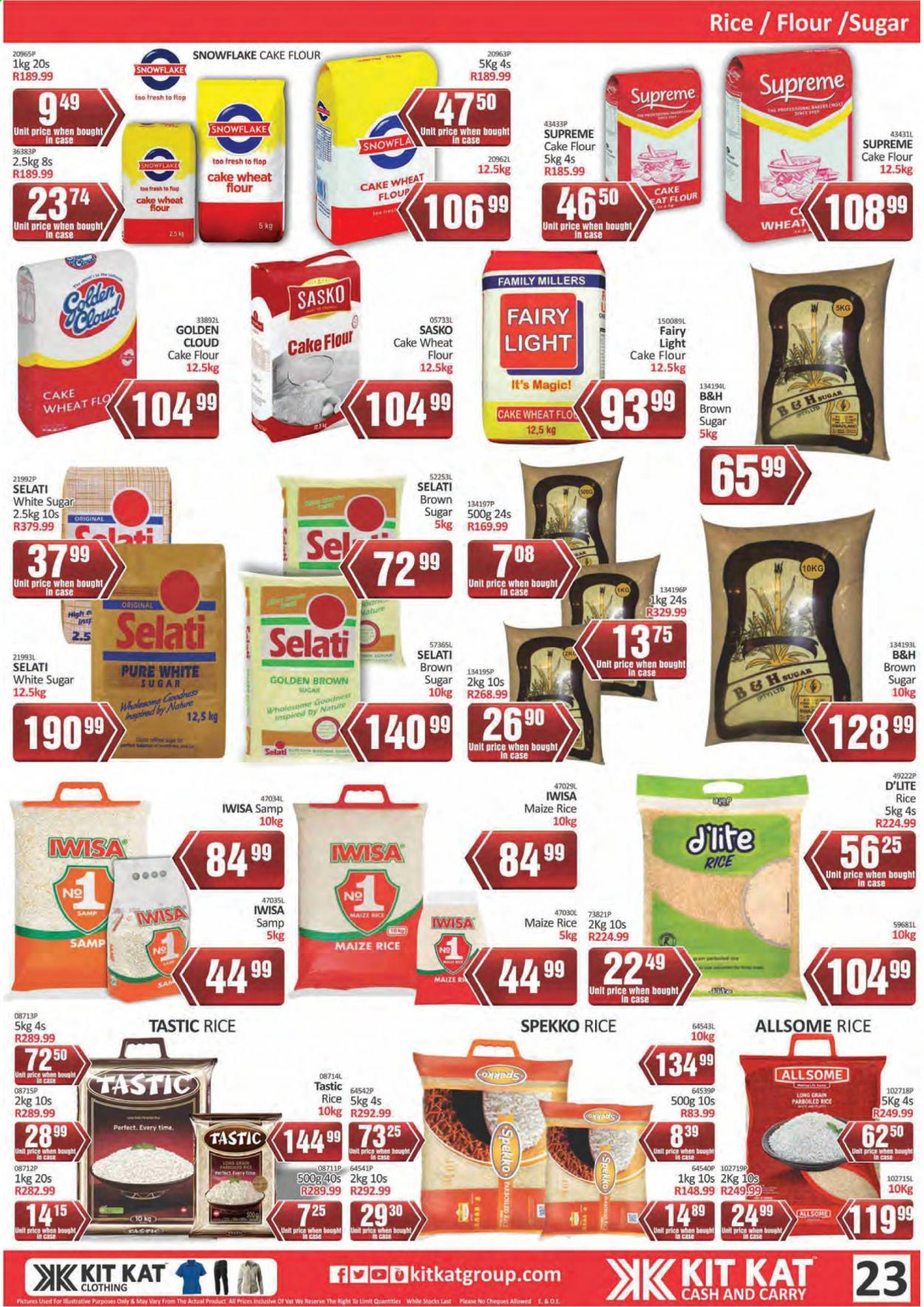 Kit Kat Cash & Carry catalogue  - 02.11.2021 - 05.12.2021. Page 23.