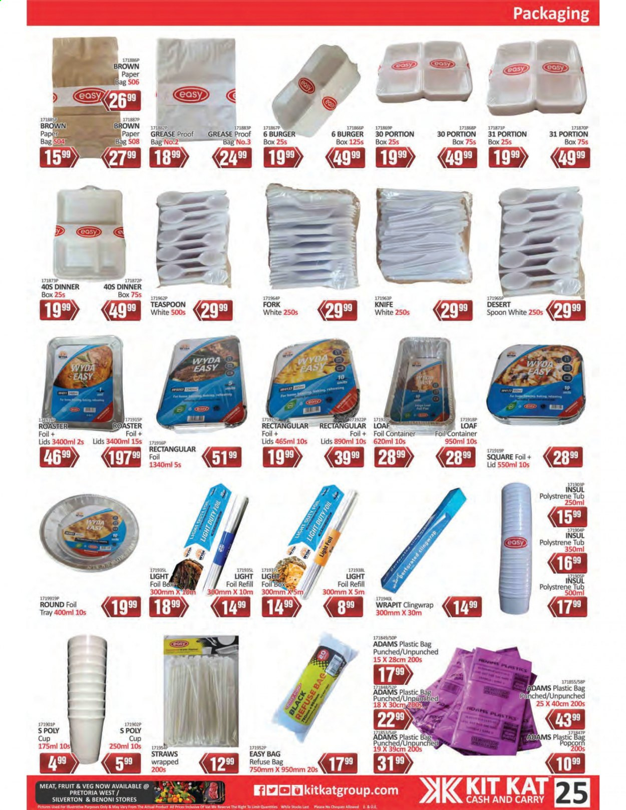 Kit Kat Cash & Carry catalogue  - 02.11.2021 - 05.12.2021. Page 25.