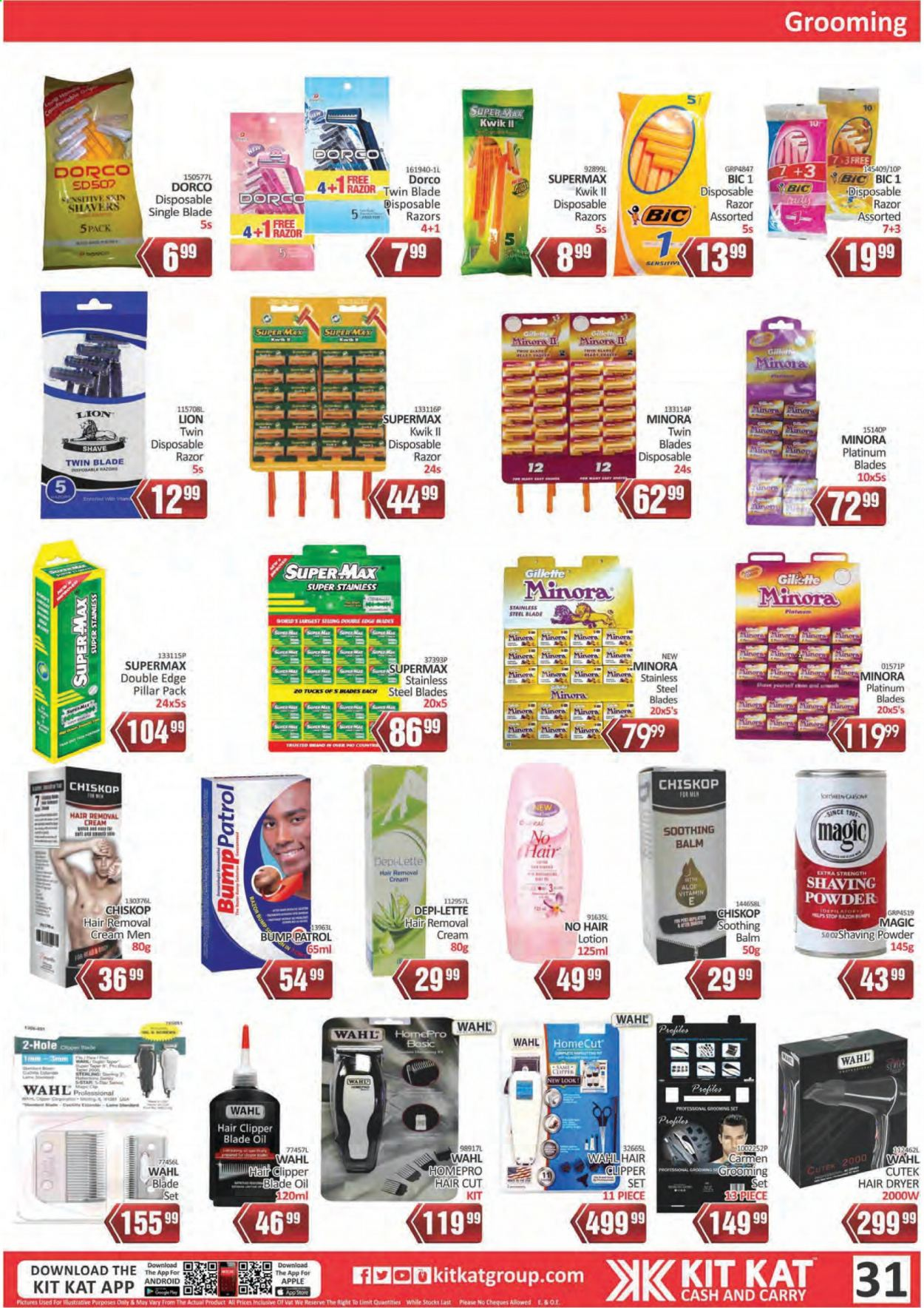 Kit Kat Cash & Carry catalogue  - 02.11.2021 - 05.12.2021. Page 31.