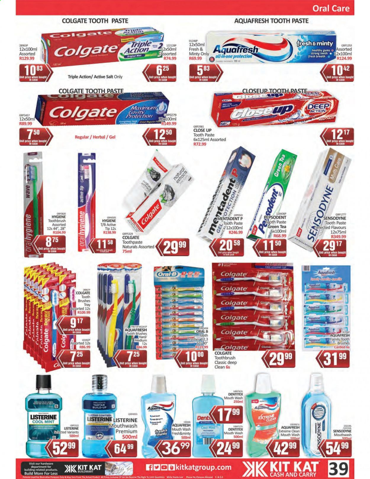 Kit Kat Cash & Carry catalogue  - 02.11.2021 - 05.12.2021. Page 39.