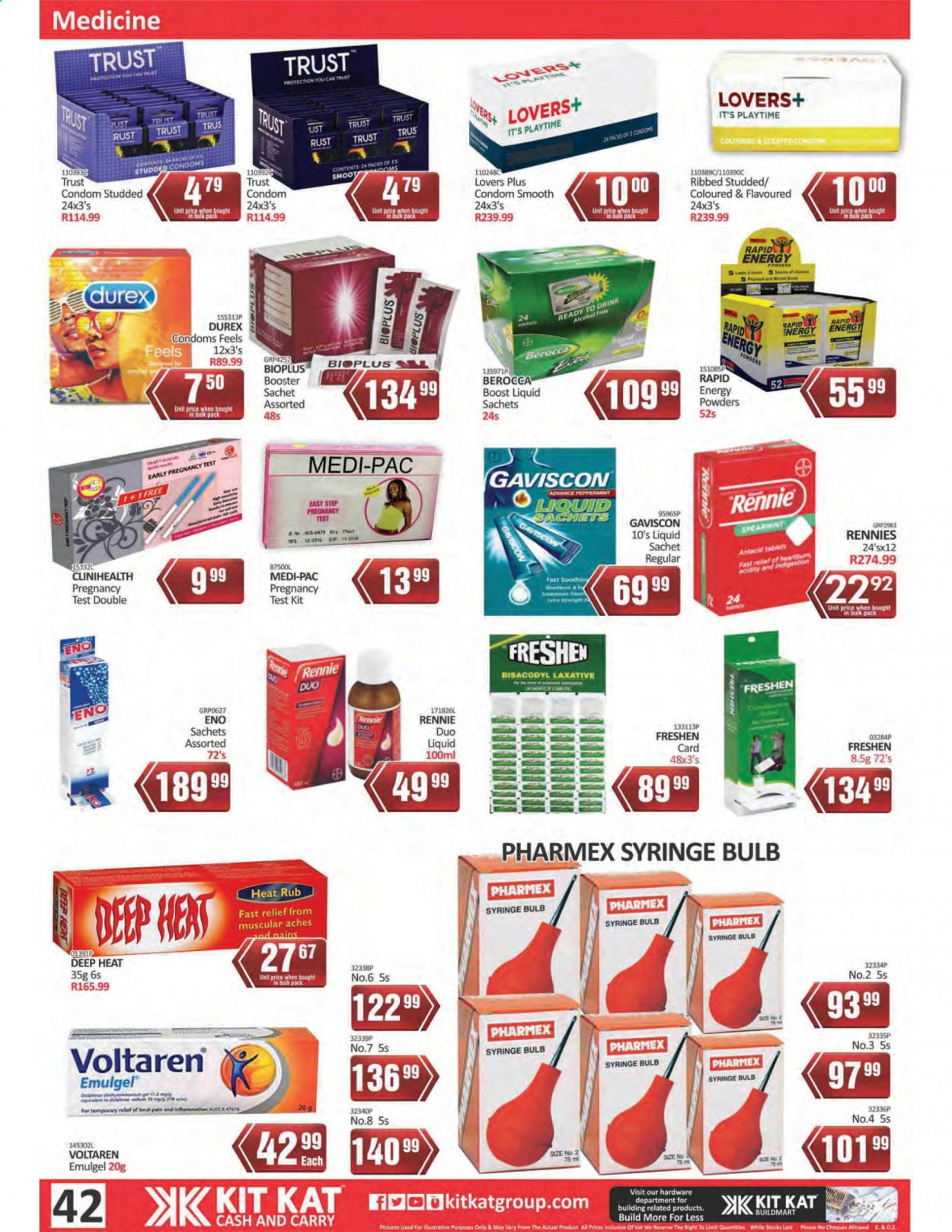 Kit Kat Cash & Carry catalogue  - 02.11.2021 - 05.12.2021. Page 42.