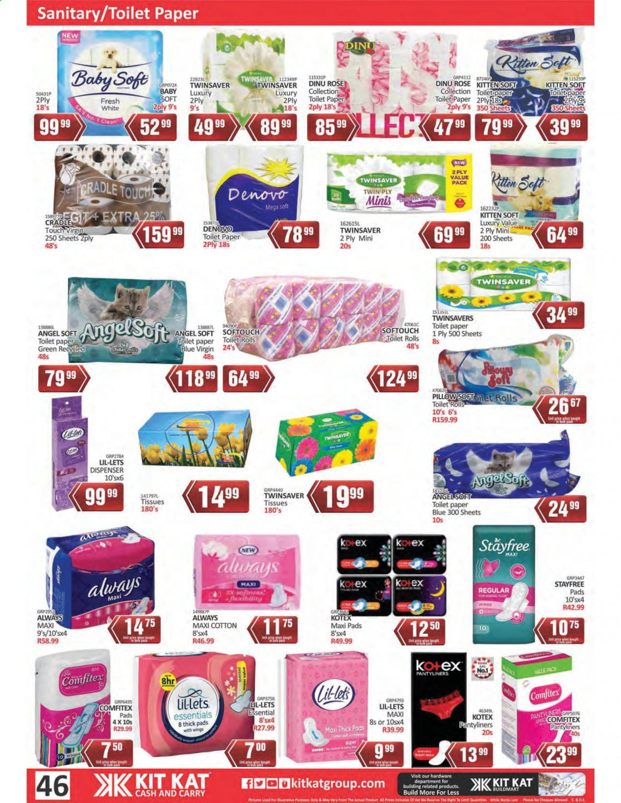 Kit Kat Cash & Carry catalogue  - 02.11.2021 - 05.12.2021. Page 46.