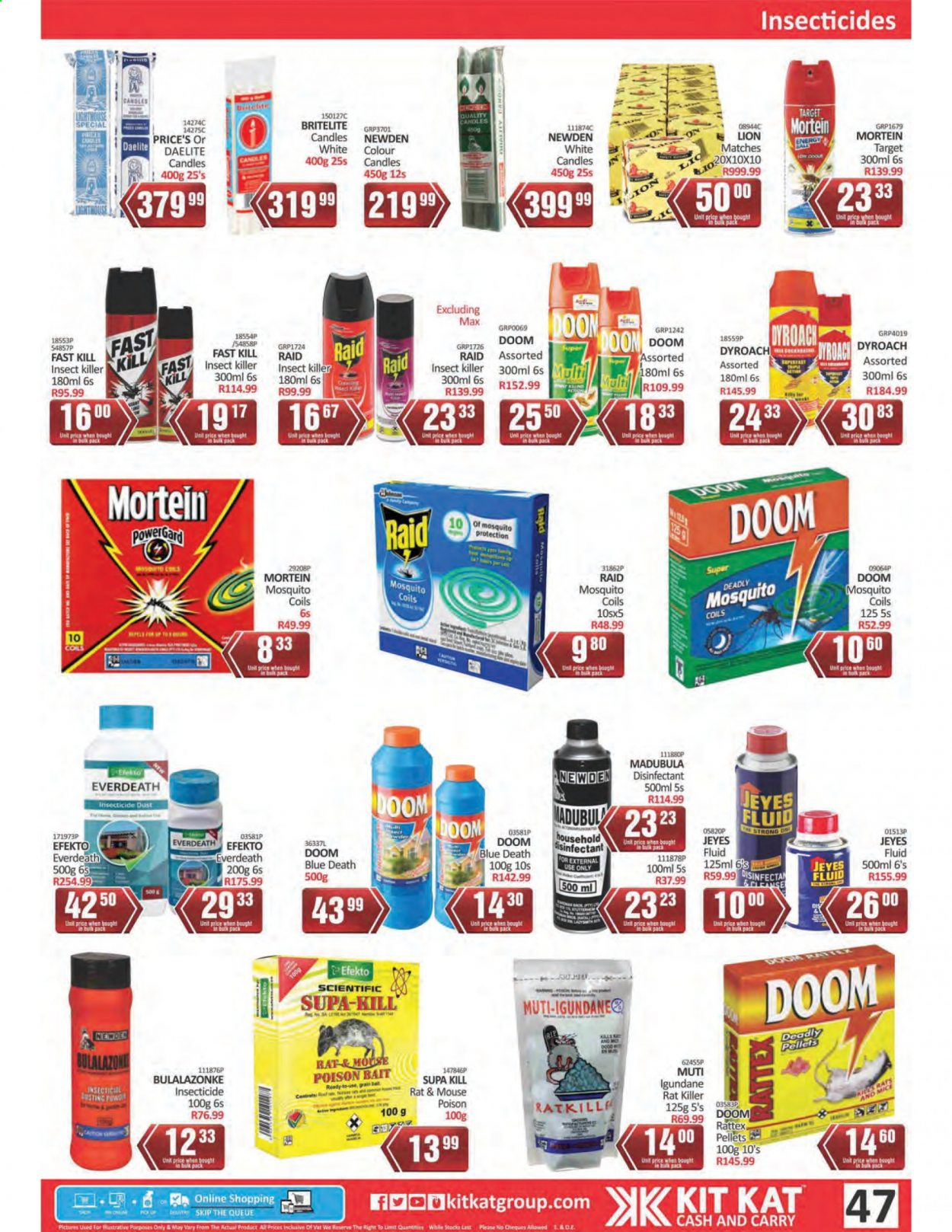 Kit Kat Cash & Carry catalogue  - 02.11.2021 - 05.12.2021. Page 47.