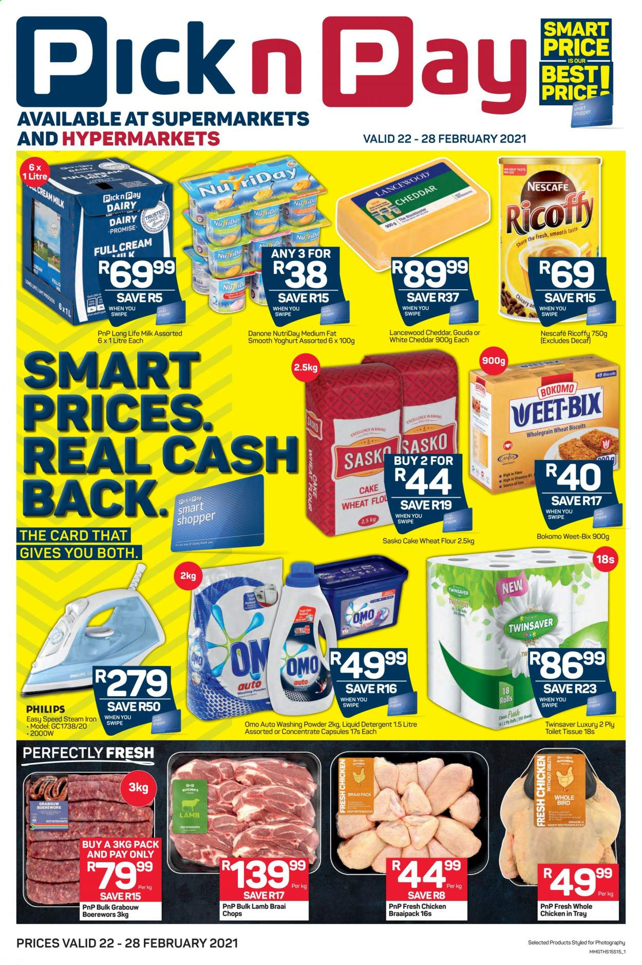 Pick n Pay catalogue  - 02.22.2021 - 02.28.2021. Page 1.