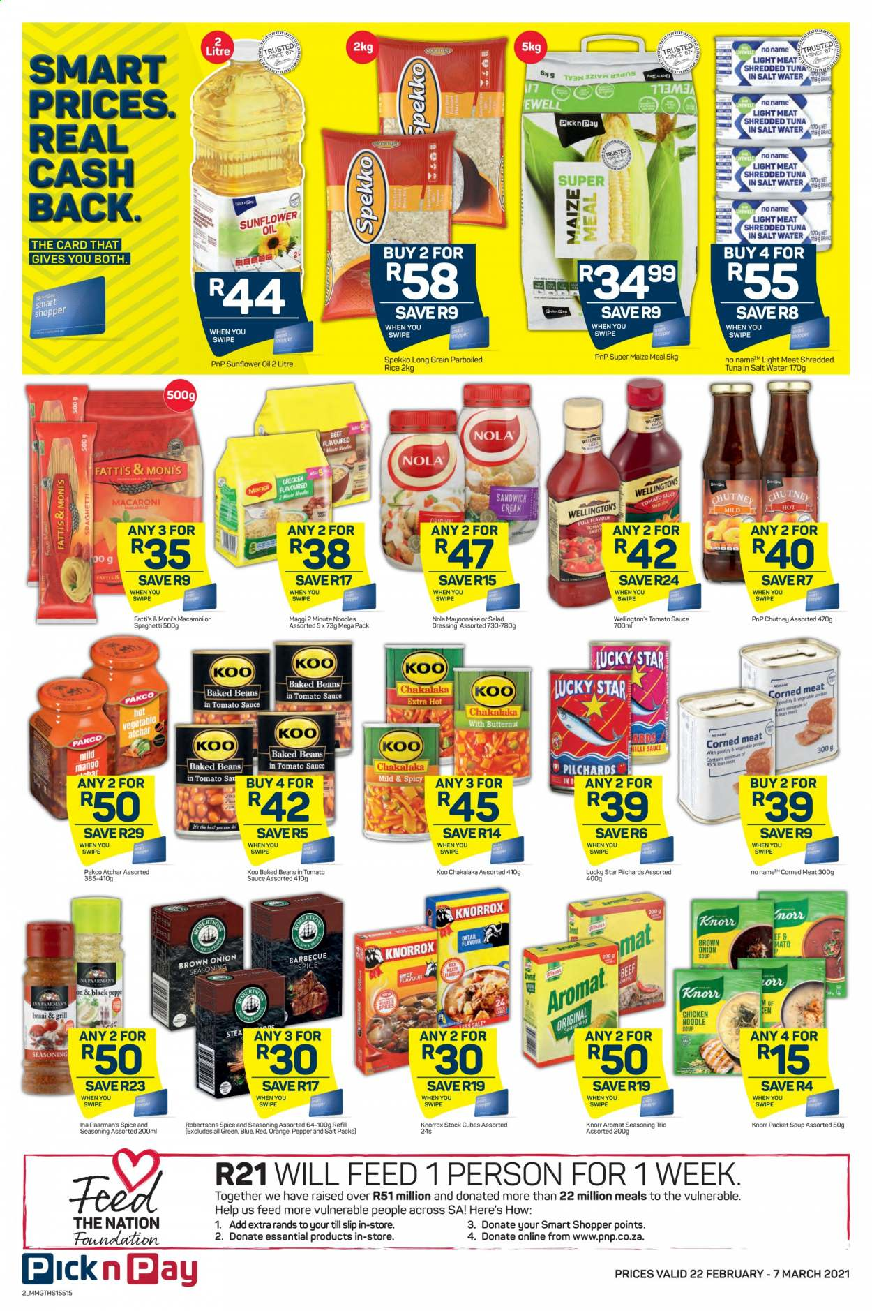Pick n Pay catalogue  - 02.22.2021 - 02.28.2021. Page 2.
