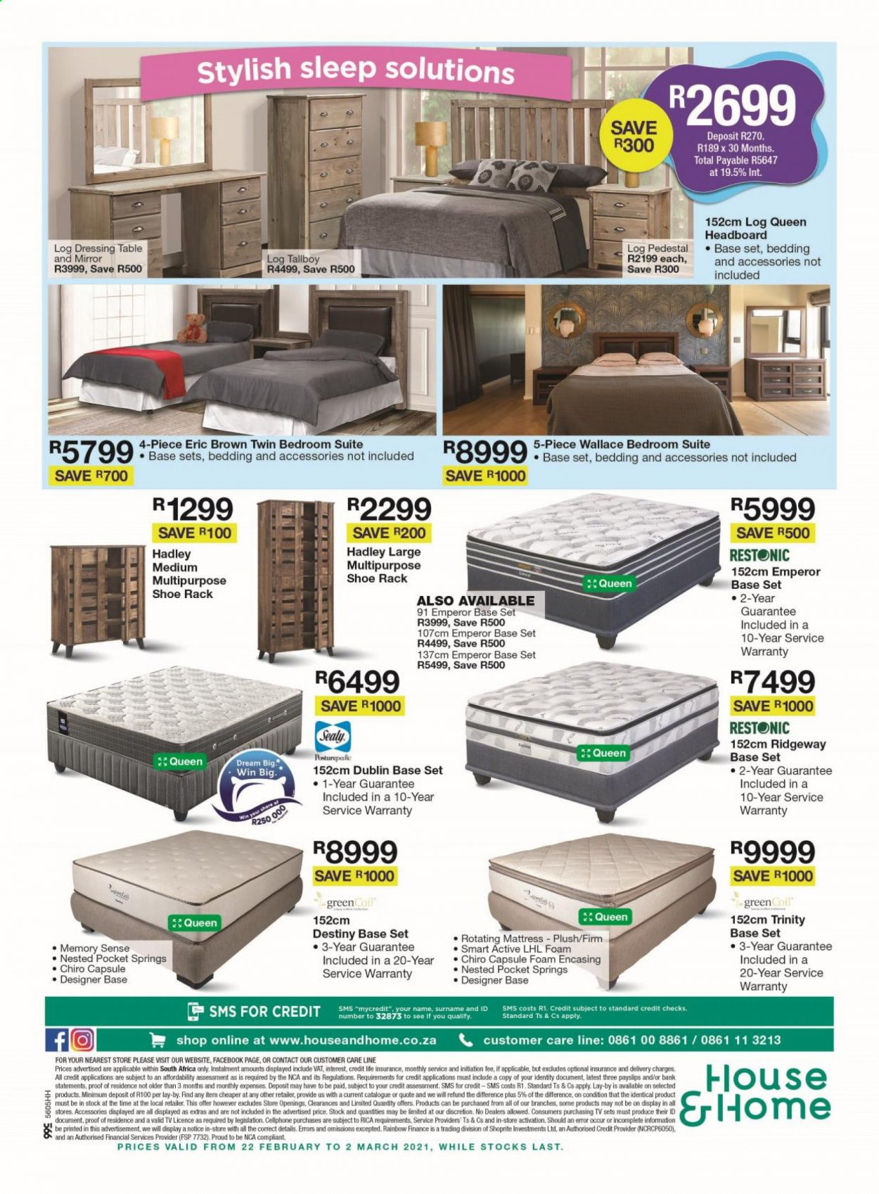 House & Home catalogue  - 02.22.2021 - 03.02.2021. Page 8.
